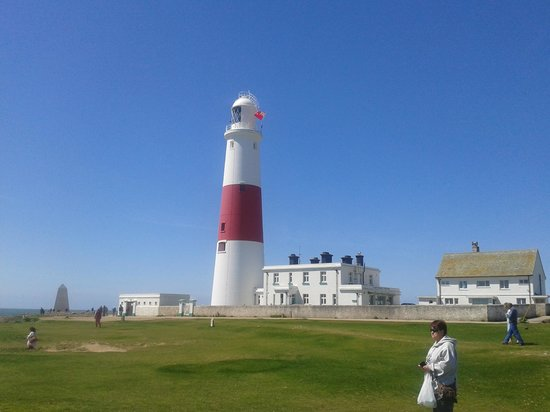 Portland Plateau: Lighthouse at Portland Bill.