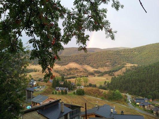 Xalet Refugi Pere Carné: Vistas desde El Xalet