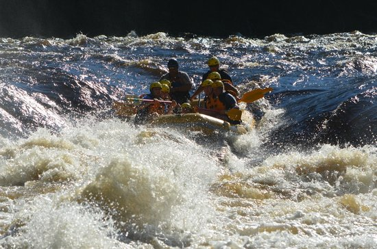 Northwoods Adventures: rafting