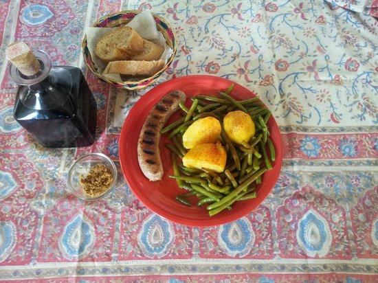 Xalet Refugi Pere Carné: Comida casera