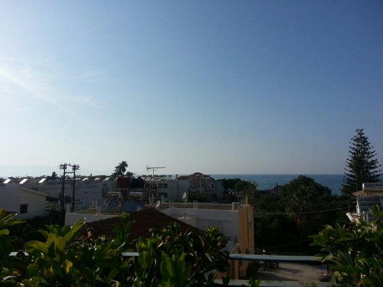 Diogenis: The view from the restaurant