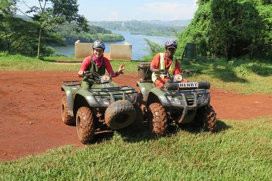 All Terrain Adventures : Myself and a guide