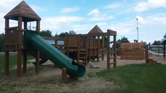 "Twin Ells : Playground ""castle"""
