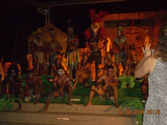 Dreams La Romana : all the dancers after by far the best show