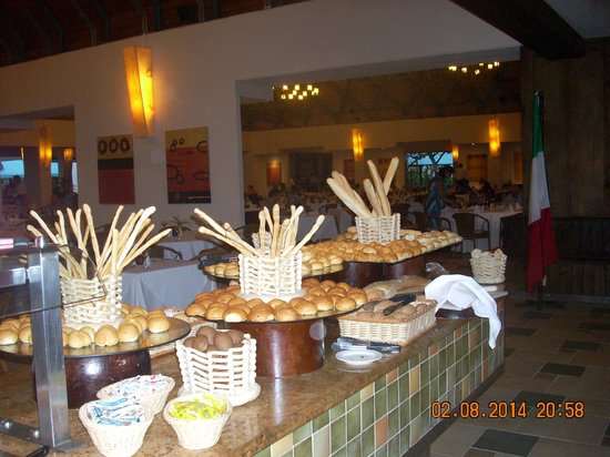 Dreams La Romana Resort & Spa : more amazing food