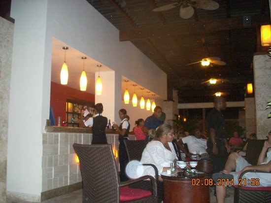 Dreams La Romana : the lobby bar