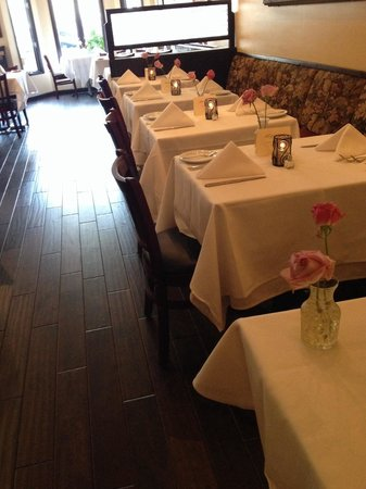 Madeline's Restaurant: New floors