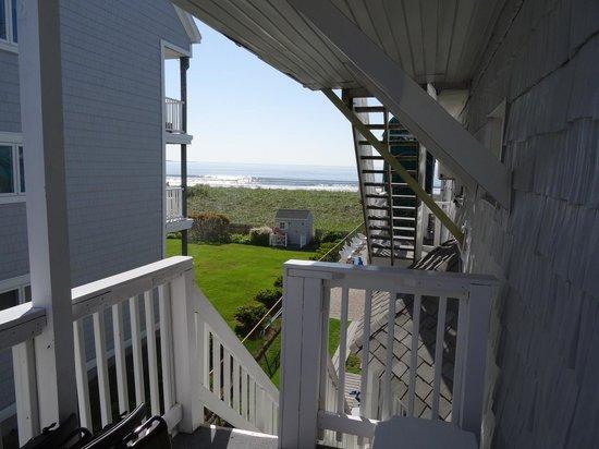 Sea Cliff House Motel : Balcony view room 5
