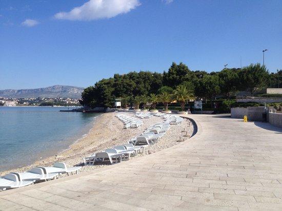 Le Meridien Lav Split : Exklusiver Hotelstrand