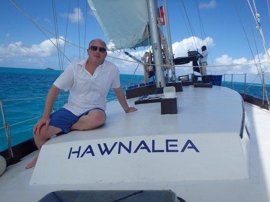 Miramar Sailing: On board hawnalea with Capt Kevin