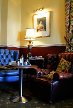 The Bulkeley Hotel: or sit on those leather chairs having tea and cake