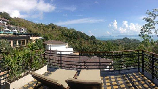 Mantra Samui Resort : Balkon