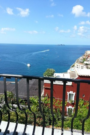 Villa Rosa: View from terrace