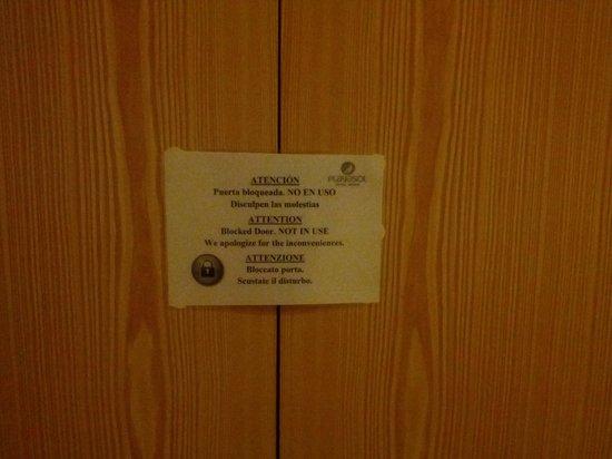 Hotel Central Playa : Armadio chiuso