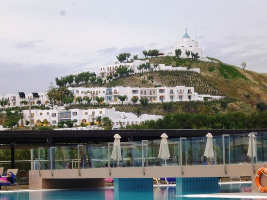 Sentido Carda Beach Atlantica: View of next door resort from mail pool