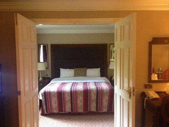 Redworth Hall Hotel: Huge bed