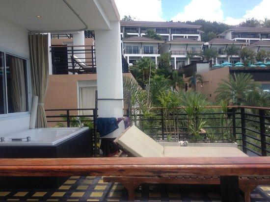 Mantra Samui Resort: Whirlpool auf Terasse