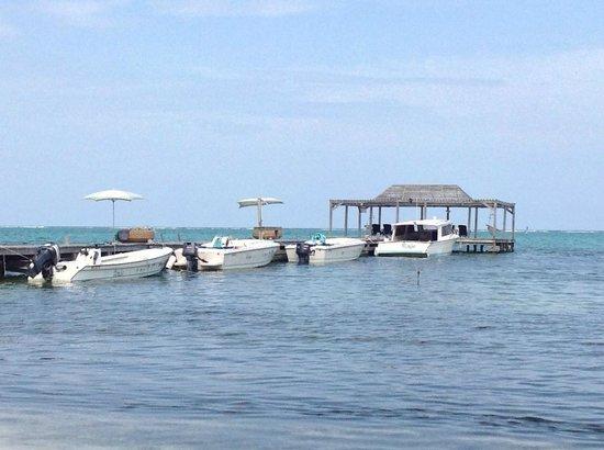 Matachica Resort & Spa: hotel jetty