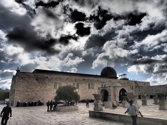 Tempelberg: The dome of the rock is not the only point of interest here!