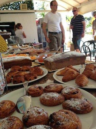 Lido La Pigna : het ontbijtbuffet