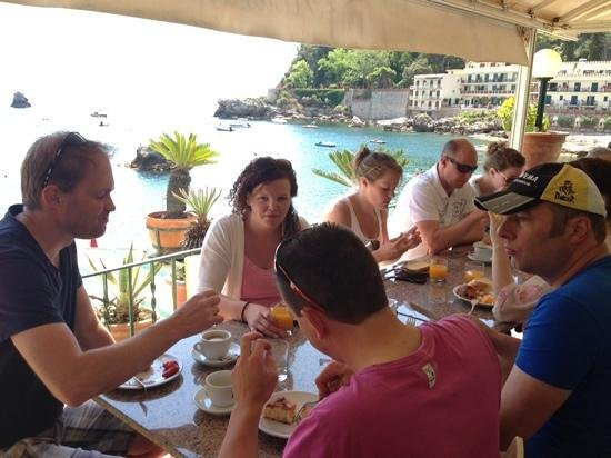 Lido La Pigna : breakfast with a view