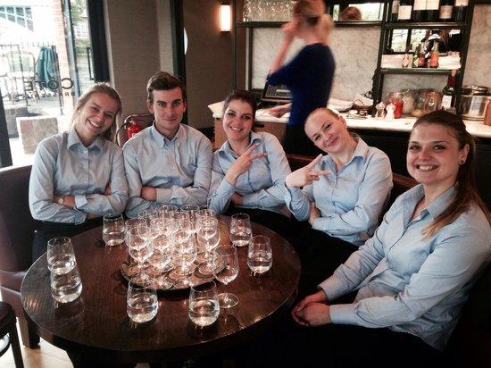 Cote Brasserie - Windsor: Hard working team will always smile!!!