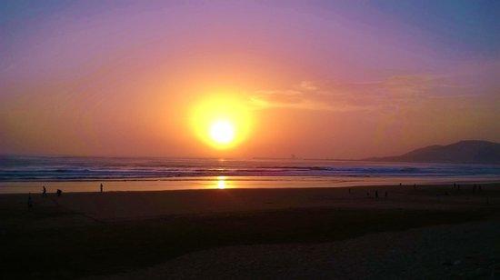 Iberostar Founty Beach: beautiful sunset on the beach