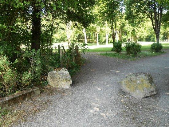Club Med Vittel le Parc: promenade dans le parc