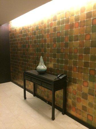 Chatrium Hotel Riverside Bangkok: couloirs
