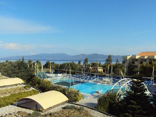 Aqua Fantasy Aquapark Hotel & SPA: View from our balcony