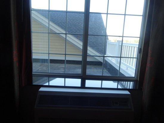 Hampton Inn by Hilton Bangor: View from our window