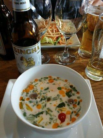 TUK TUK : Thai Street Food : soupe de poulet au tuk tuk thaï street food