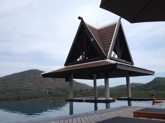 InterContinental Samui Baan Taling Ngam Resort : Pool oben