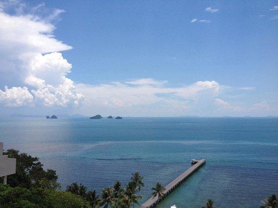InterContinental Samui Baan Taling Ngam Resort: Blick vom Zimmer