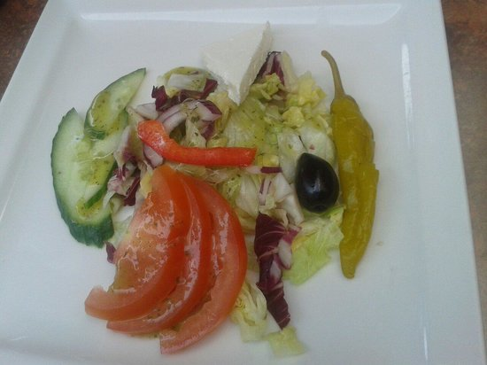 Restaurant Kreta: delicious side salat
