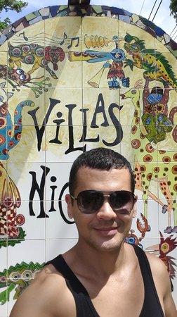 Villas Nicolas : Entrada Principal