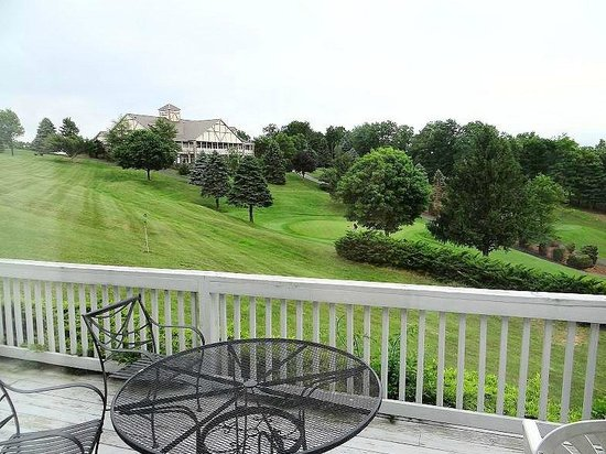 Olde Beau Resort and Golf Club : view from cottage deck