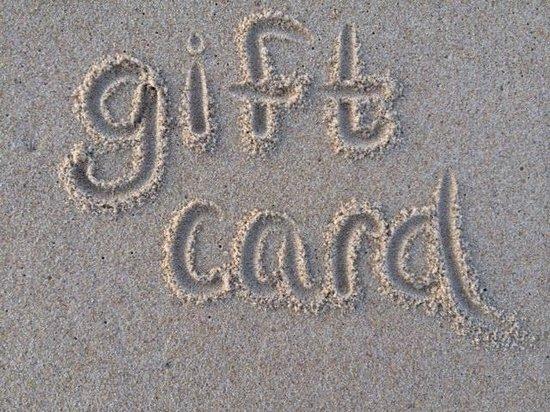Hartman's Briney Breezes Motel: gift card