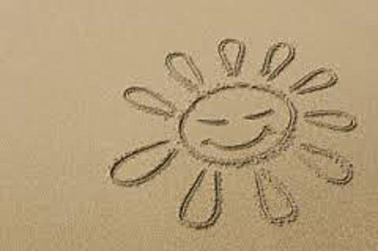 Hartman's Briney Breezes Motel: sun in sand