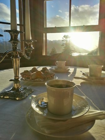 Glencoe House: Worth getting up for