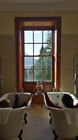 Glencoe House: Bubbly with your bubble bath