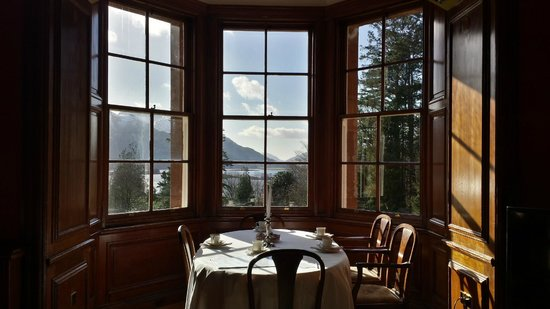 Glencoe House: Dining alcove