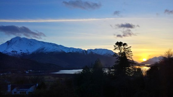 Glencoe House: The view from our suite