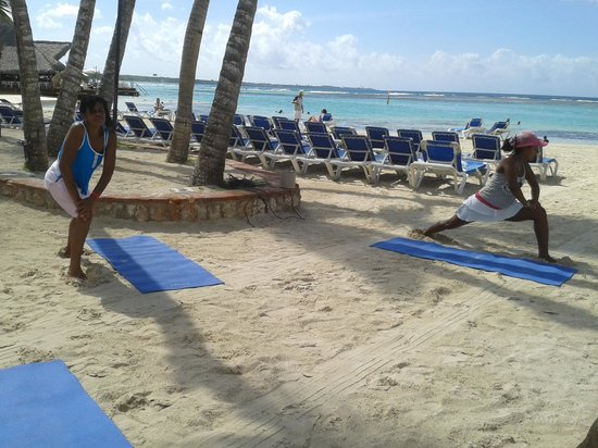 Be Live Experience Hamaca Suites : streching time