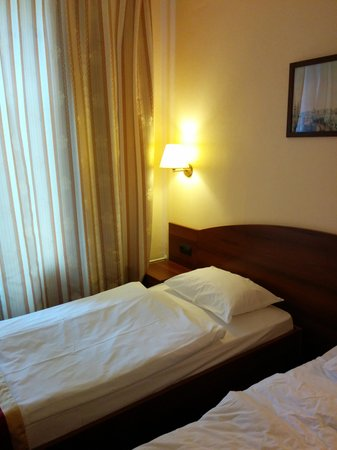 Rossiya Hotel: letto