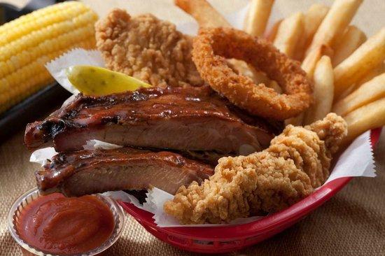 Zarda Bar-B-Q & Catering Company: Zarda Chicken Rib Basket