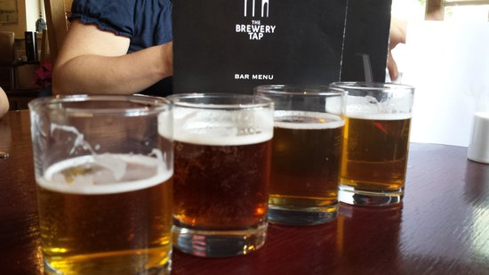 The National Brewery Centre: Beer tasting