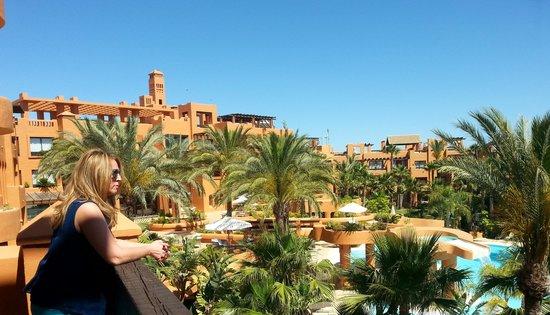 Royal Hideaway Sancti Petri, part of Barcelo Hotel Group: VISTAS DESDE EL BALCON