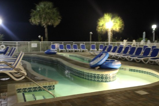 Bay Watch Resort & Conference Center : Pool area/Lazy river