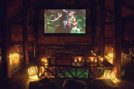 Green Organic Villas: Cinema